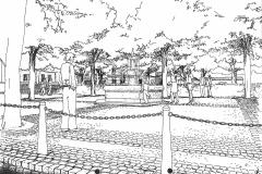 Leer-Brunnen-am-Marktplatz
