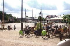 Leer-Hafen-Radwanderer