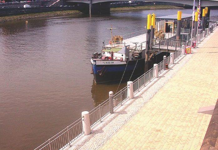 Weseruferpromenade Bremen Tiefer